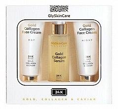 Kup Zestaw - GlySkinCare Gold Collagen (2 x cr 50 ml + ser 50 ml)