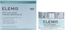 Kup Naprawczy krem przeciwzmarszczkowy do twarzy 70+ - Elemis Pro-Collagen Marine Cream SPF30