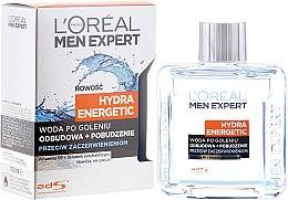 Kup Woda po goleniu przeciw zaczerwienieniom Odbudowa + pobudzenie Hydra Energetic - L'Oreal Paris Men Expert