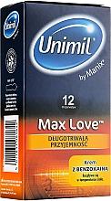 Kup Prezerwatywy, 12 szt. - Unimil Max Love