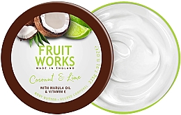 Kup Masło do ciała Kokos i limonka - Grace Cole Fruit Works Body Butter Coconut & Lime