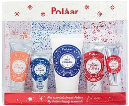 Kup Zestaw - Polaar Polaar Christmas 2020 My Beauty Essentials Gift Set (f/cr/25ml + f/cr/15ml + b/milk/50ml + h/cr/25ml + lip/balm/10ml)