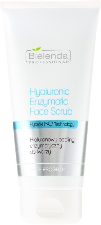 Hialuronowy peeling enzymatyczny do twarzy - Bielenda Professional Hydra-Hyal Injection Hyaluronic Enzymatic Face Scrub