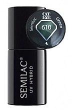 Kup Lakier hybrydowy do paznokci - Semilac UV Hybrid Cat Eye