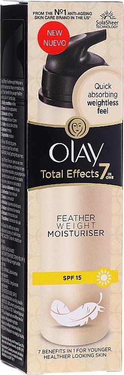 Zestaw - Olay Total Effects 7 (cr 50 ml + 20 x wipes) — фото N3