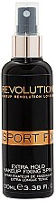 Kup Utrwalacz makijażu - Makeup Revolution Sport Fix Makeup Extra Hold Fixing Spray