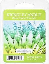 Kup Wosk zapachowy do kominków - Kringle Candle Dewdrops