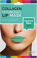 Kup Hydrożelowa maska kolagenowa do ust - Beauty Face Collagen Hydrogel Lip Mask Hyaluro Filler