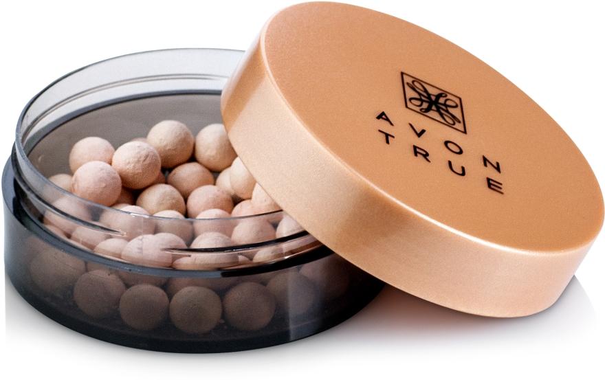 Matujący puder w perełkach do twarzy - Avon True Flawless Soft Focus Finishing Pearls — фото N2