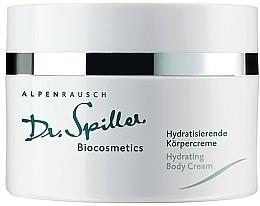 Kup Nawilżający krem do ciała - Dr. Spiller Alpenrausch Hydrating Body Cream