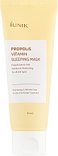 Kup Regenerująca maska witaminowa z propolisem na noc - iUNIK Propolis Vitamin Sleeping Mask