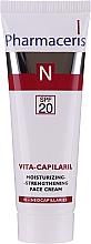 Kup Nawilżająco-wzmacniający krem do twarzy SPF 20 - Pharmaceris N Vita-Capilaril
