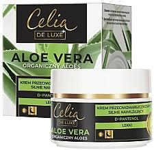 Kup Przeciwzmarszczkowy krem do twarzy silnie nawilżający - Celia De Luxe Aloe Vera Light Anti-Wrinkle Cream