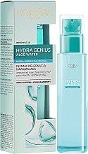Kup Płynna pielęgnacja nawilżająca do skóry normalnej i suchej - L'Oreal Paris Hydra Genius Aloe Water