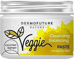 Kup Oczyszczająca pasta do cery mieszanej i tłustej Ogórek i imbir - DermoFuture Veggie