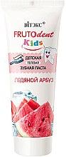 Kup Pasta do zębów bez fluoru dla dzieci Lodowy arbuz - Vitex Frutodent Kids