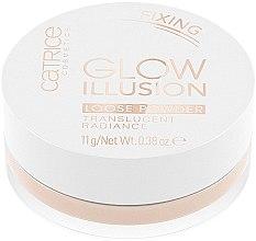 Kup Sypki puder rozświetlający i utrwalający makijaż - Catrice Glow Illusion Loose Powder