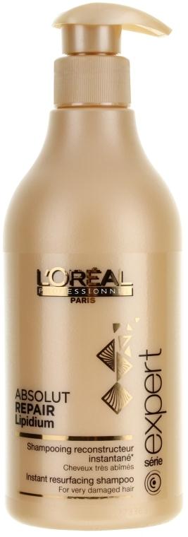 Szampon błyskawicznie regenerujący włosy - L'Oreal Professionnel Absolut Repair Lipidium Instant Resurfacing Shampoo