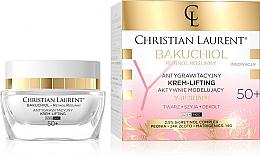 Kup Antygrawitacyjny krem liftingujący do twarzy, szyii i dekoltu 50+ - Christian Laurent Bakuchiol Retinol Y-Reshape Lifting Cream