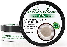 Kup Ekstraodżywcze masło do ciała do skóry normalnej i suchej - Naturalium Coconut Extra Nourishing Body Butter