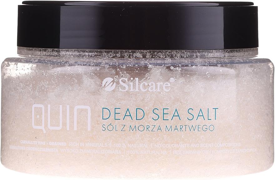 Drobnoziarnista sól z Morza Martwego - Silcare Quin Dead Sea Salt — фото N2