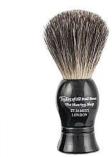 Kup Pędzel do golenia, czarny - Taylor of Old Bond Street Shaving Brush Pure Badger size S