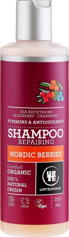Organiczny szampon naprawczy do włosów Nordyckie jagody - Urtekram Nordic Berries RepairingShampoo — фото N1