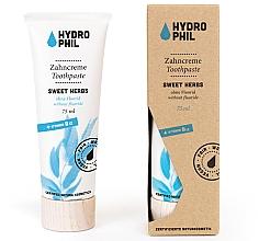 Kup Pasta do zębów - Hydrophil Sweet Herbs Toothpaste