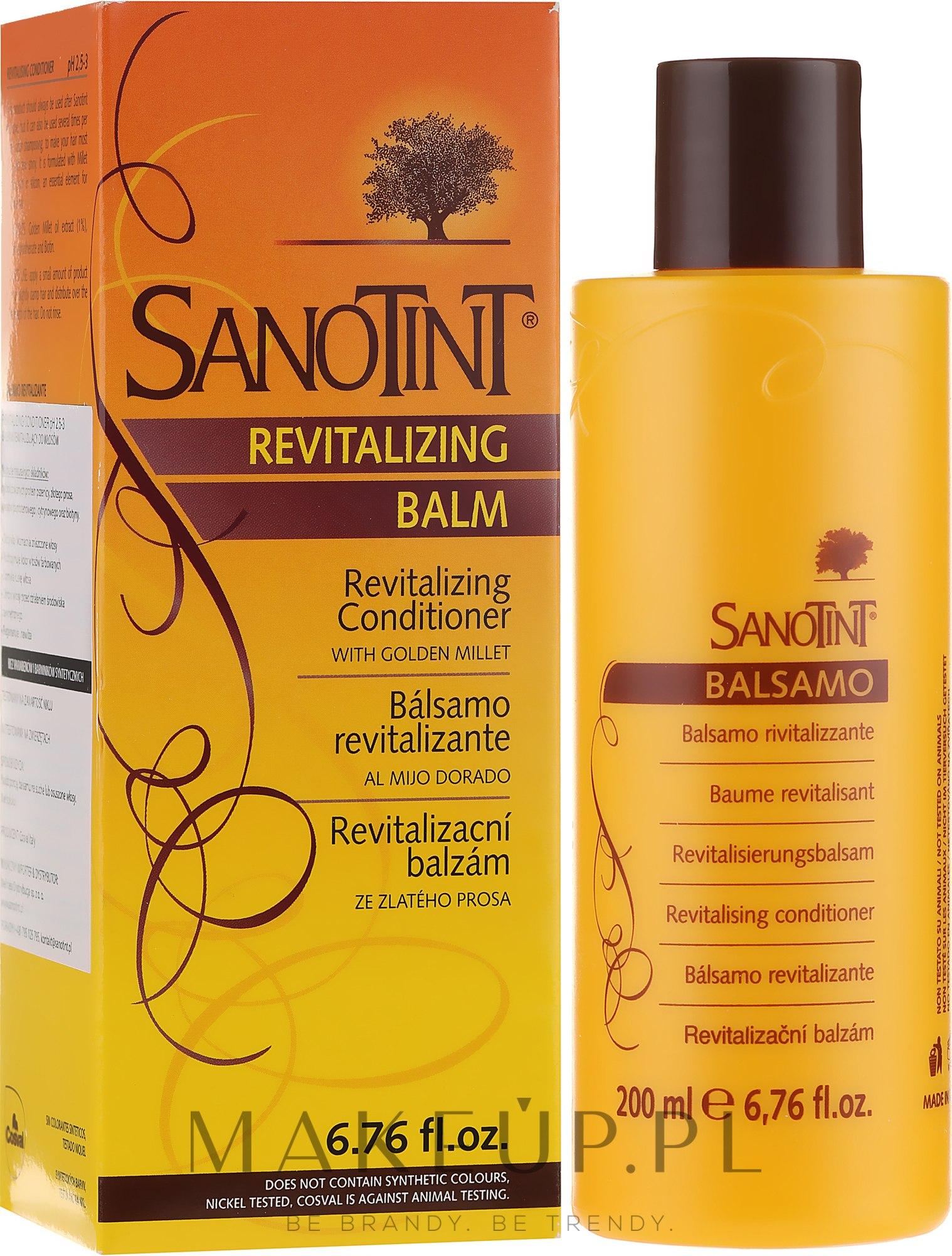 Restrukturyzujący balsam do włosów - SanoTint Restructuring Balm — фото 200 ml