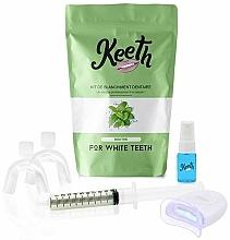 Kup Zestaw do wybielania zębów Mięta - Keeth Mint Teeth Whitening Kit
