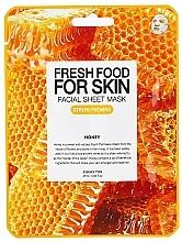 Kup Wzmacniająca maseczka w płachcie do twarzy Miód - Superfood For Skin Facial Sheet Mask Honey Strenghtening