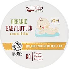 Kup Organiczne masło do ciała dla dzieci Kokos i masło shea - Wooden Spoon Organic Baby Butter