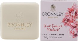 Kup Bronnley Pink Peony & Rhubarb - Mydło w kostce