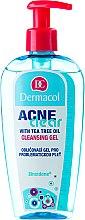 Kup Oczyszczający żel przeciwtrądzikowy do cery problematycznej - Dermacol Acne Clear Make-Up Removal & Cleansing Gel