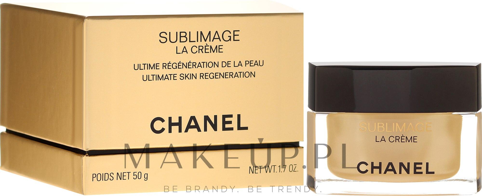 Regenerujący krem do twarzy - Chanel Sublimage La Crème — фото 50 ml
