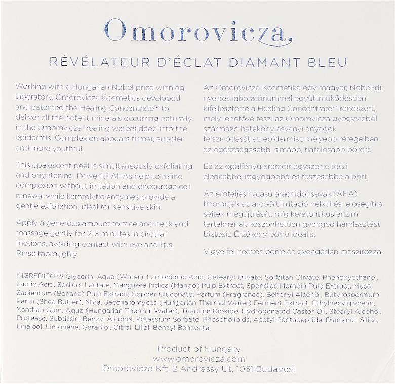 Peeling do twarzy - Omorovicza Blue Diamond Resurfacing Peel — фото N3