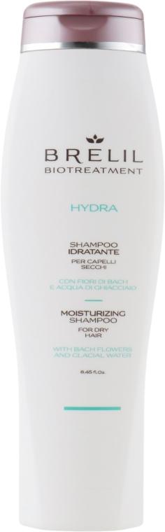 Nawilżający szampon do włosów suchych - Brelil Bio Treatment Hydra Moisturizing Shampoo For Dry Shampoo — фото N1