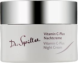 Kup Krem do twarzy na noc z witaminą C - Dr. Spiller Vitamin C-Plus Night Cream