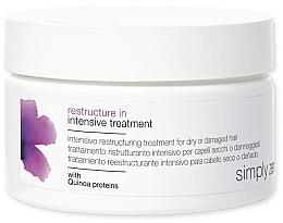 Kup Regenerująca maska do włosów suchych i zniszczonych - Z. One Concept Simply Zen Restructure In Intensive Treatment