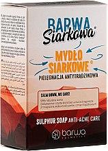 Kup Antytrądzikowe mydło siarkowe - Barwa Anti-Acne Sulfuric Soap