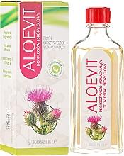 Kup Płyn odżywczo-wzmacniający do włosów i skóry głowy - Kosmed Aloevit Nourishing & Strengthening