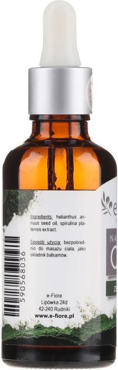 Naturalny olej ze spiruliny - E-Fiore — фото N2