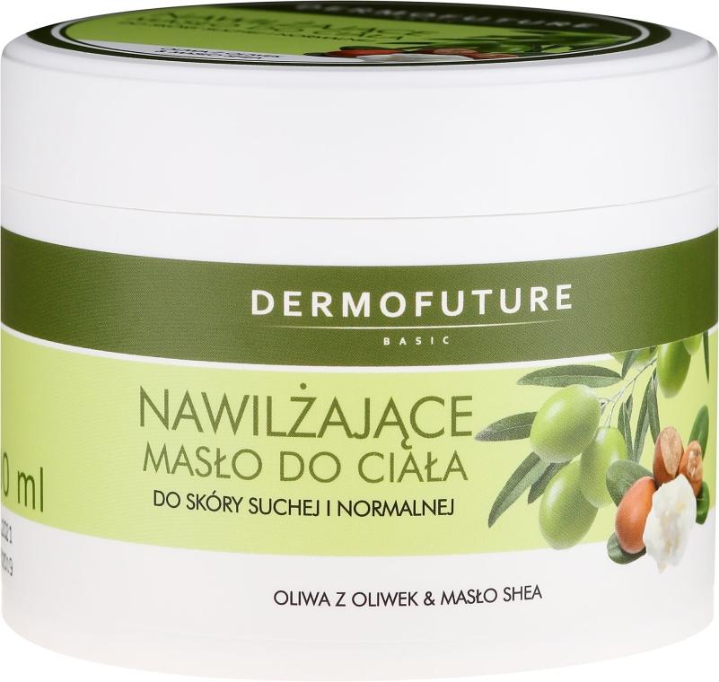 Nawilżające masło do ciała do skóry suchej i normalnej - DermoFuture