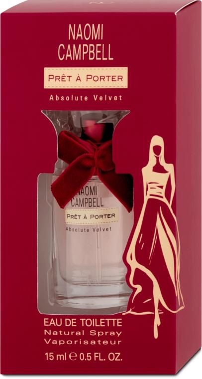 Naomi Campbell Pret a Porter Absolute Velvet - Woda toaletowa (mini) — фото N1