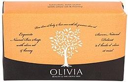 Kup Naturalne mydło w kostce Oliwa z oliwek i miód - Olivia Beauty & The Olive Tree Natural Bar Soap Olive Oil And Honey