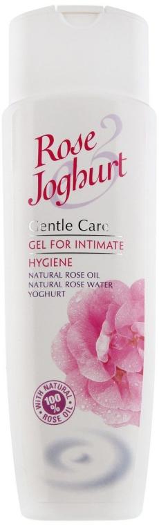 Żel do higieny intymnej Jogurt i róża - Bulgarian Rose Rose & Joghurt Gel For Intimate Hygiene — фото N1