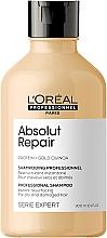 Kup Naprawczy szampon do włosów zniszczonych z komosą i proteinami - L'Oreal Professionnel Serie Expert Absolut Repair Gold Quinoa + Protein Shampoo