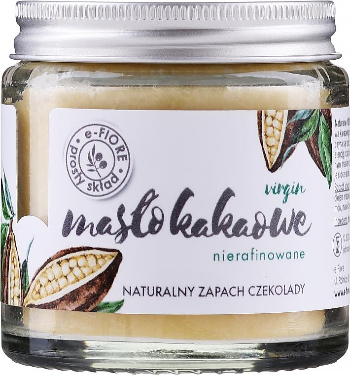 Nierafinowane masło kakaowe - E-Fiore