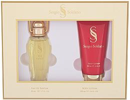 Kup Sergio Soldano Via Venty - Zestaw (woda perfumowana/50ml + balsam do ciała/100ml)