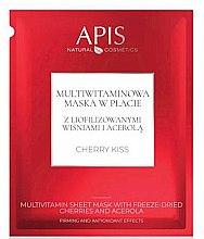 Kup Witaminowa maska w płachcie do twarzy - APIS Professional Cherry Kiss Multivitamin Sheet Mask